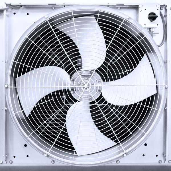Air turbine fan for ventilation and air conditioning.