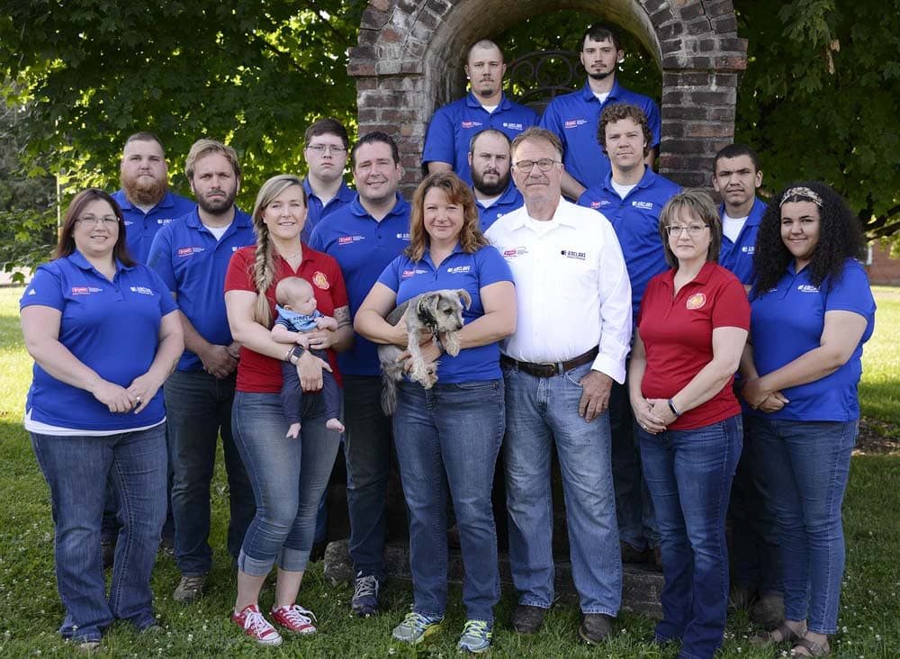 Airclaws heating and cooling Team